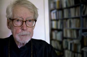 Janerik Henriksson/TTGöran Malmqvist fotograferad inför sin 95-årsdag i juni. Arkivbild.