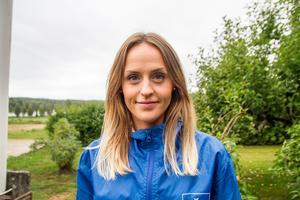 Magdalena Fagerhov, Västergrängsjö, Gnarp, tar över som partiets toppkandidat i Nordanstig.