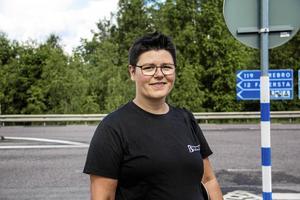 Leane Blom från Liberalerna i Norberg. Arkivfoto: Evelina Utter