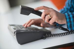 Telefonin inom Landstinget Dalarna slutade att fungera under måndagsmorgonen. Problemen löstes vid 18-tiden på kvällen.