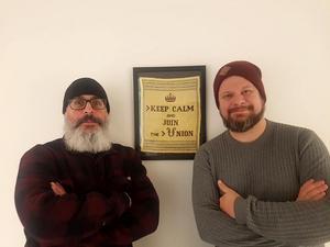 Tony Björk och Rikard Rudolfsson.