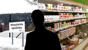 Montagebilder: Ove Öst och TT Arkiv. (Butiken på bilden har inte med den aktuella händelsen att göra.)