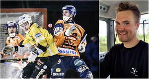 Markus Eriksson är en av initiativtagarna till nystartade division 2-laget Edsbyn-Alfta Bandy. Ett lag med rutinerade spelare som exempelvis Eric Lönngren.