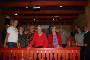Socialdemokraterna i Askersund håller sin valvaka i Åmmebergs Folkets hus.