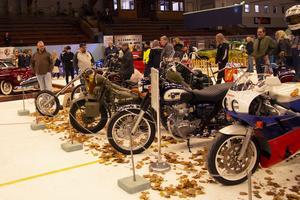 Även motorcyklar har en given plats under Motorrevyn.