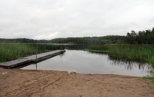 Temperaturen i Muskan i Ösmo mätte 25 grader. Foto: NP/arkiv