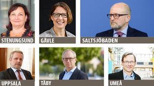 Annika Stenberg, Christina Forsberg, Sven-Eric Söder, Erik Brattgård, Fredrik Malmberg och Anders Fällström är  skrivna på andra orter.