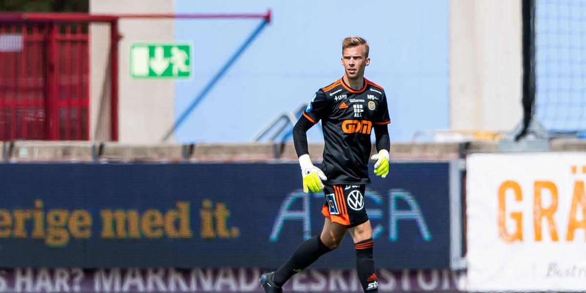 """Andersson fick förtroendet mellan stolparna – var GIF:s bästa spelare i förlustmatchen: """"Bättre kan vi, bättre ska vi"""""""