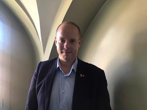Andreas Sjölander (S) kommunalråd i Härnösand.
