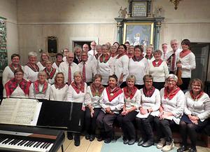 Sång- och musikgruppen Ruijan Haarat har swedan starten för ett drygt år sedan haft omkring 40 medlemmar, medlemmar som trivs och har roligt tillsammans – och glädjer andra.