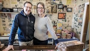 Edward och Sandra van Munster flyttade från Nederländerna till Sverige 2013 och tog över Brännholms Affär'n i Borgvattnet.