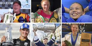 Vem ska få NA:s guldklocka 2019? Arkivfoto: Vittorio Ubertone, Privat, TT, Gabriel Rådström
