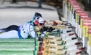 Zebastian Modin och övriga parasportare stoppas från tävlande i Östersund. Arkivbild: Karl Nilsson