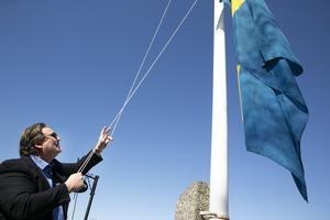 Flaggor hissades i Tällberg när Tällbergsgården fick rätt mot kommunen i förvaltningsrätten.