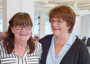 Eva Ekendahl och Monica Näs segrade, när SPF seniorernas bridge-DM avgjordes. Foto: Majvor Enström