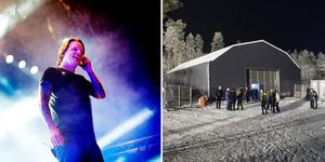 600 biljetter sålda och utsålt när Takida med sångaren Robert Pettersson spelar i Solberg på lördag. Foto: Kristoffer Hellman/Arkiv och Izabelle Nordfjell/Arkiv