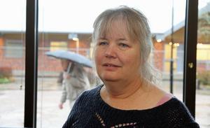 Gunilla Falk är både bibliotekschef och kulturchef.