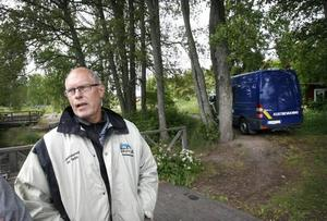 Polismannen Torbjörn Larsson leder utredningen av Kjell-Ove Anderssons försvinnande.