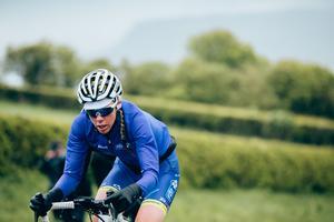 Emilia Fahlin kommer att köra för Hanna Nilsson i lördagens linjelopp i cykel-VM. Foto: Thomas Maheux