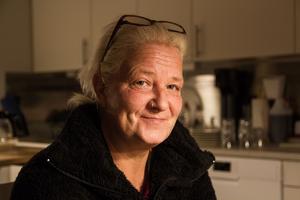 Tillsammans med Ing-Marie Englund fyller Carola Karlsson upp härbärgets enda heltidstjänst.