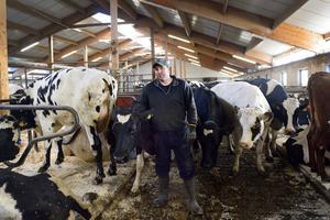 Lantbrukaren Kjell Olsson i Sundsvall tror att torkan kan leda till masslakt av djur.
