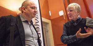 Daniel Persson (SD) och hans partikamrater lämnade demokratidagen under freds- och utvecklingsforskaren Hans Abrahamssons föreläsning.