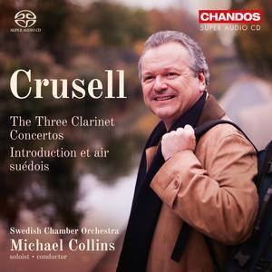 Inspelningen med Michael Collins och Svenska kammarorkestern är gjord av skivbolaget Chandos.