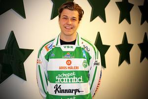 Måns Engström går från Tillberga till VSK. Foto: VSK