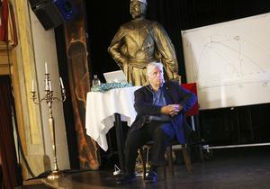 Yngve Gustafson, professor i geriatrik vid Umeå universitet besökte Östersund med föreläsningen