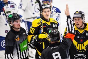 Efter målet mot Karlskrona har Isac Skedung gjort 10 poäng (4+6) på 34 matcher i VIK-tröjan. Foto: Tobias Sterner / BILDBYRN