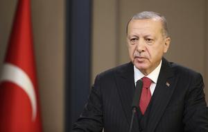 Turkiets president  Recep Tayyip Erdoğan. Foto: AP Photo