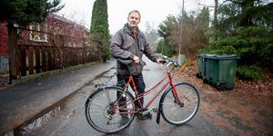 Den före detta polisen Anders Olofsson har startat en arbetsgrupp i Cykelfrämjandet. Gruppen vill att Södertälje ska bli Sveriges bästa cykelstad.