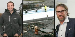 Det nya marincentret i Nynäshamn byggs av Marine Store. Simon Borgström är delägare i koncernen.