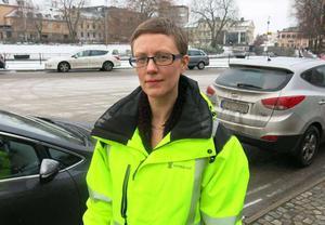 Linnea Viklund är Västerås stads gatuchef.