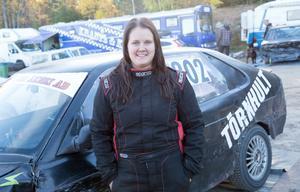 Ida Törnhult från Forsbacka vann dam- och veteranklassen i Mittmedia cup.