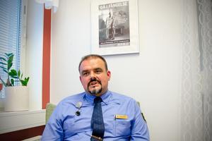 Radomir Šarkan, anstaltschef på Saltvik.