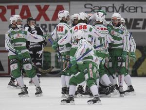 Västerås Joel Engström har reducerat 3–1