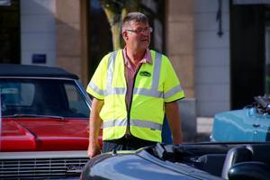 Arne Lundgren gästade Gamla giffare och berättade om sitt stora bilintresse och framför allt för Cadillacs.