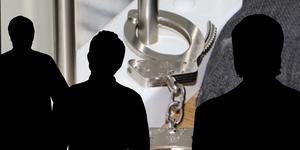 Polisen fann ett handfängsel och nycklar vid brottsplatsundersökningen på Frösön.