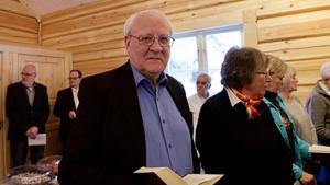 Kyrkofullmäktiges ordförande Rune Berglund deltog i kyrkoinvigningsmässan i Högvålen.