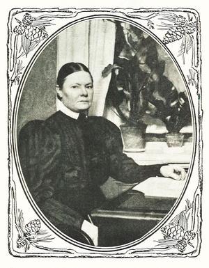 Gertrud Adelborg, rösträttskämpe.