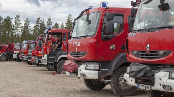 De polska brandmännen är redo att åka hem imorgon, lördag den 4 augusti.