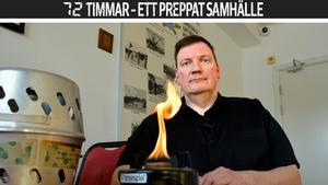 Christer Nauclér, brandskyddsinspektör och aktiv i Civilförsvaret.