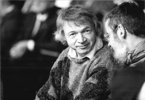 Rudolf Bahro 1989. Foto: Bundesarchiv