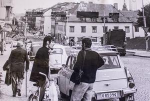 Stora gatan ner mot centrum 1971.
