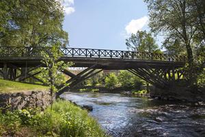 Färden går över Gammelbron ... Bild: Lina Westman