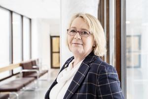 Finansregionrådet Irene Svenonius (M). Foto: Emma-Sofia Olsson/TT