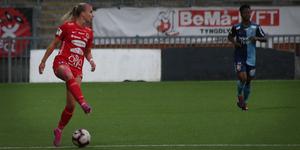 Jenna Hellstrom har tidigare spelat i Rosengård, Djurgården och Växjö.