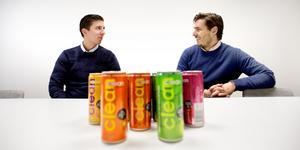Sebastian Kvissberg, vd, och Hugo Rosas, brand manager, är bröderna som introducerat en ny produkt på dryckesmarknaden.