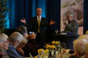 SPF seniorerna firade 40 år och gästades av bland annat Peter Flack på Folkets hus.